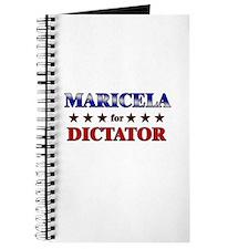 MARICELA for dictator Journal