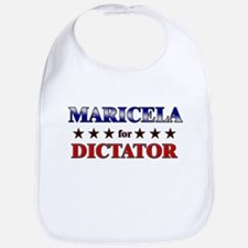 MARICELA for dictator Bib
