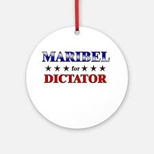 MARIBEL for dictator Ornament (Round)