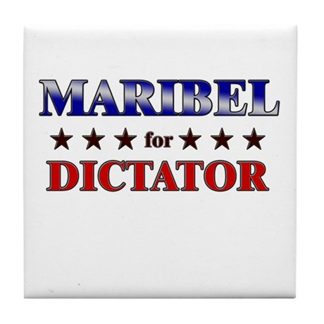 MARIBEL for dictator Tile Coaster