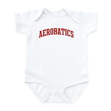 Aerobatics (red curve) Infant Bodysuit