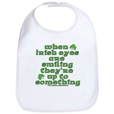 When Irish Eyes Are Smiling Joke Bib
