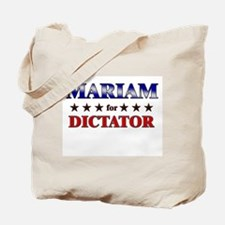 MARIAM for dictator Tote Bag