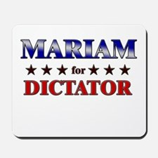 MARIAM for dictator Mousepad
