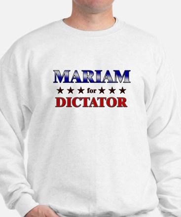 MARIAM for dictator Sweater