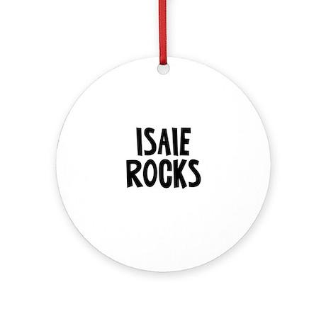 Isaie Rocks Ornament (Round)