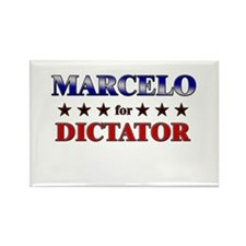 MARCELO for dictator Rectangle Magnet