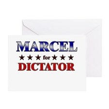 MARCEL for dictator Greeting Card