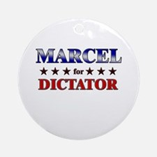 MARCEL for dictator Ornament (Round)