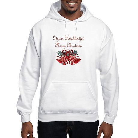 Albanian Christmas Hooded Sweatshirt