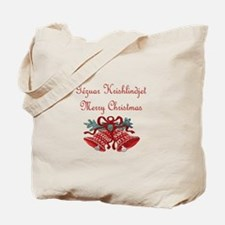 Albanian Christmas Tote Bag