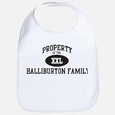 Property of Halliburton Famil Bib