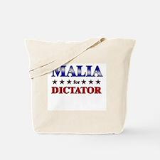 MALIA for dictator Tote Bag