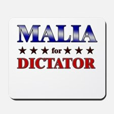 MALIA for dictator Mousepad