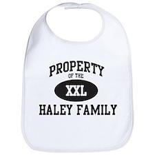Property of Haley Family Bib