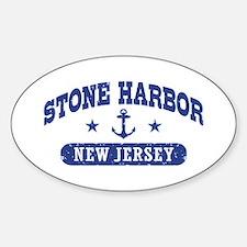 Stone Harbor NJ Sticker (Oval)