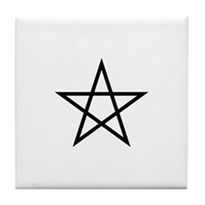 Pentagram Tile Coaster