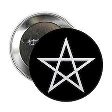 "Pentagram 2.25"" Button"
