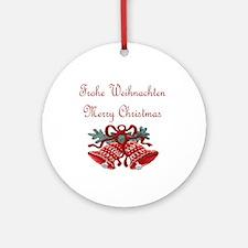 Austrian Christmas Ornament (Round)