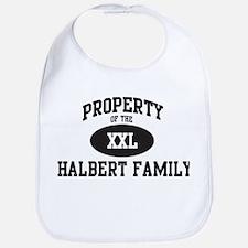 Property of Halbert Family Bib