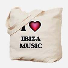 I Love IBIZA MUSIC Tote Bag