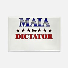 MAIA for dictator Rectangle Magnet