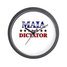 MAIA for dictator Wall Clock