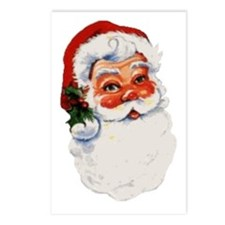 Paper Santa Postcards (Package of 8)