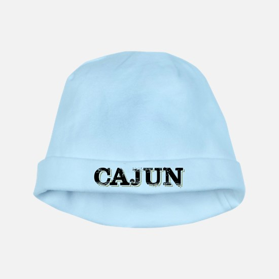 the Cajun Navy blck and gold baby hat