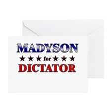 MADYSON for dictator Greeting Card