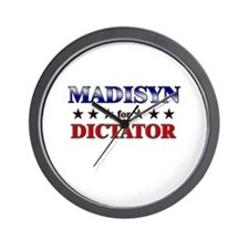 MADISYN for dictator Wall Clock