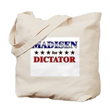 MADISEN for dictator Tote Bag