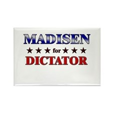 MADISEN for dictator Rectangle Magnet