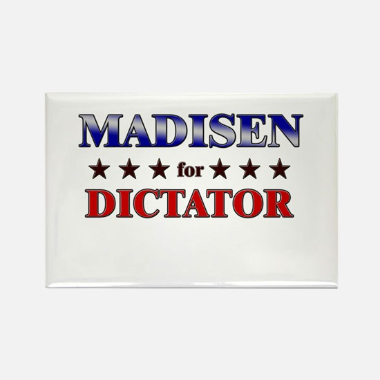 MADISEN for dictator Rectangle Magnet
