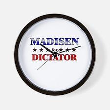 MADISEN for dictator Wall Clock