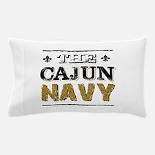 the Cajun Navy blck and gold Pillow Case