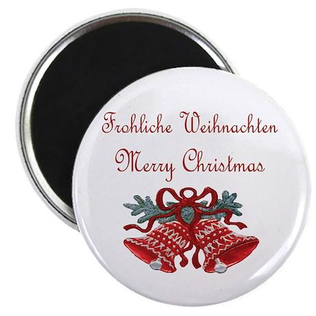 """German Christmas 2.25"""" Magnet (10 pack)"""