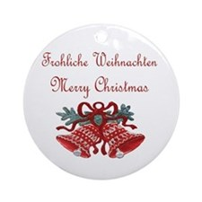 German Christmas Ornament (Round)