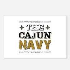 the Cajun Navy blck and g Postcards (Package of 8)