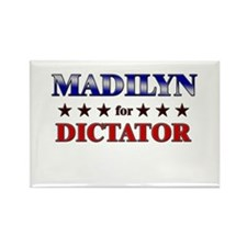 MADILYN for dictator Rectangle Magnet