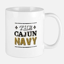 the Cajun Navy blck and gold Mugs