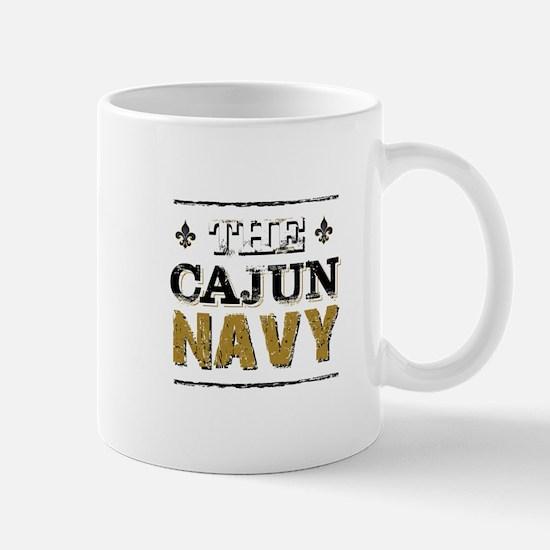 the Cajun Navy blck and gold Mugs