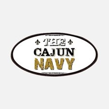 the Cajun Navy blck and gold Patch
