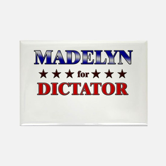 MADELYN for dictator Rectangle Magnet