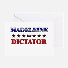MADELEINE for dictator Greeting Card