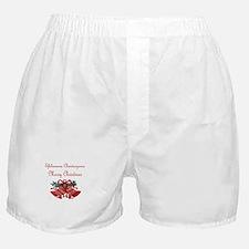 Greek Christmas Boxer Shorts