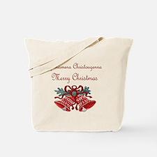 Greek Christmas Tote Bag