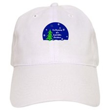 An Irish Setter Christmas Baseball Cap