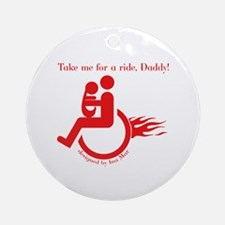 Daddy Disabled - Disability Christmas Ornament