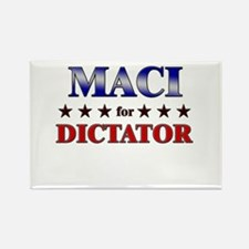 MACI for dictator Rectangle Magnet